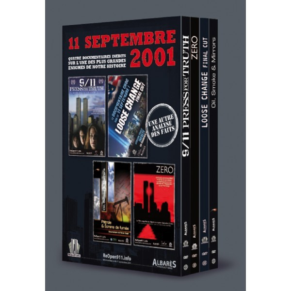 Coffret 4 DVD 11-Septembre